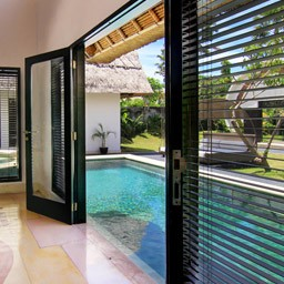 Choose two bedroom Executive Suite Pool Villa, if you want to wake up with a pool view beside your bed every morning.