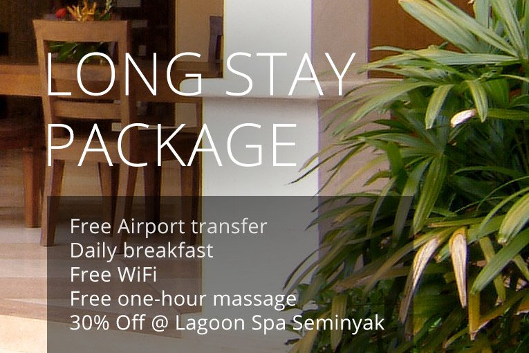 Long Stay Package at Deluxe Pool Villa