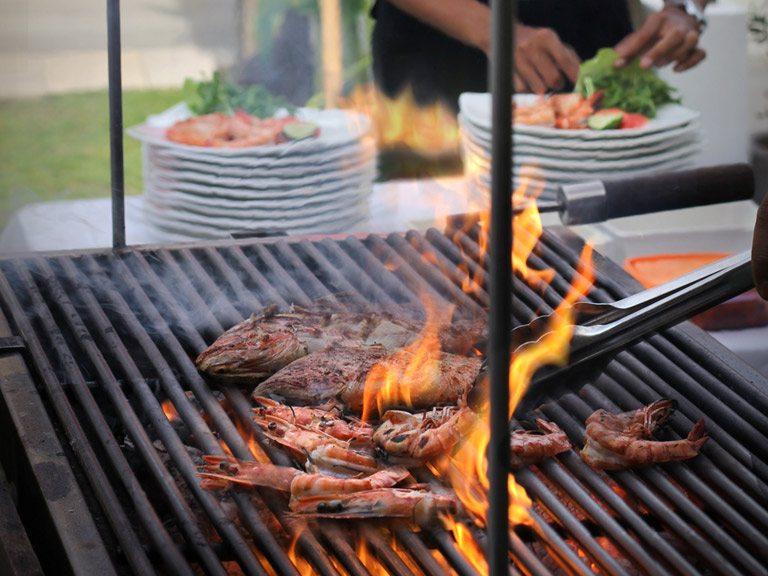 Private BBQ Party in villa